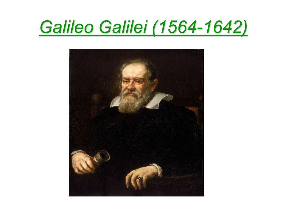 Galileo y el método hipotético- deductivo.