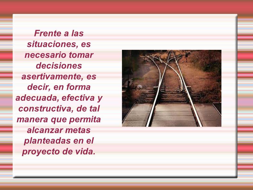 Tomar decisiones es aplicar el valor de la libertad y la responsabilidad para escoger la mejor opción.