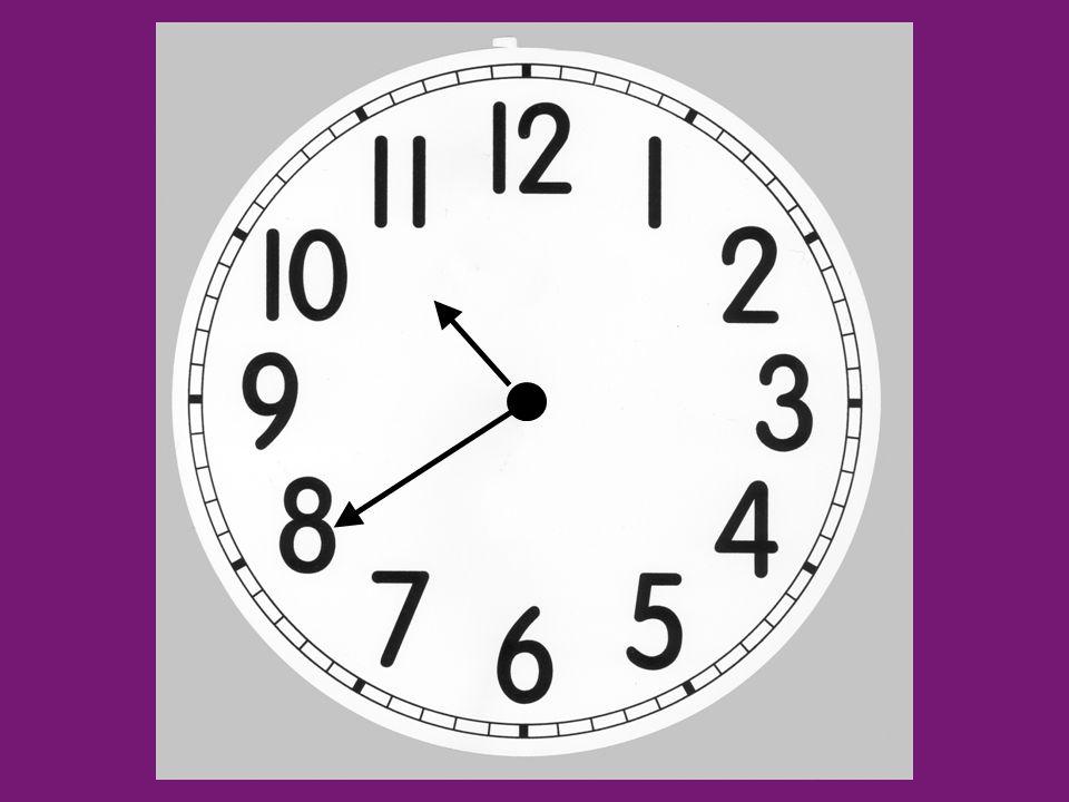 …y cincofive past …y diezten past …y cuartoquarter past …y veintetwenty past …y veinticincotwenty-five past …y mediahalf past …menos veinticincotwenty-five to …menos veintetwenty to …menos cuartoquarter to …menos diezten to …menos cincofive to