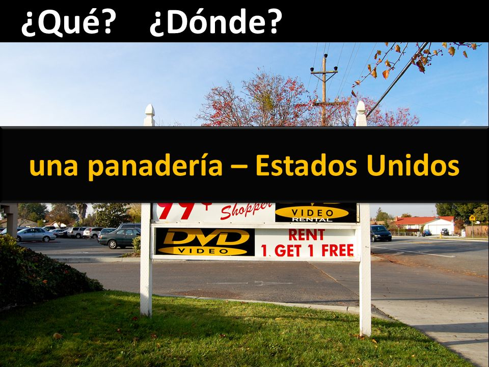 ¿Qué?¿Dónde? una frutería - España