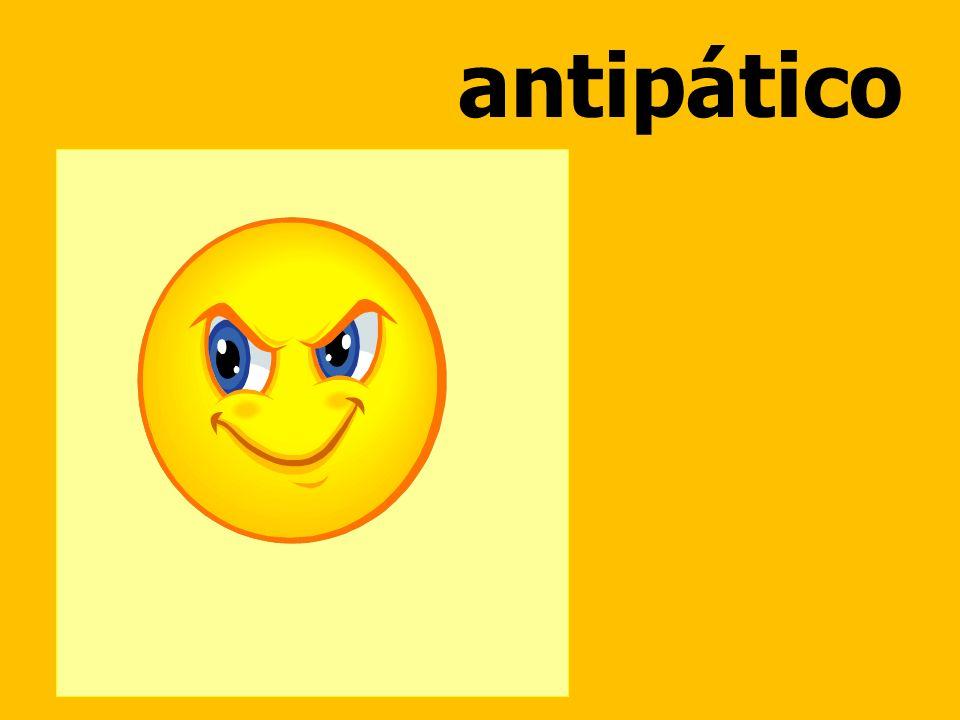 antipático