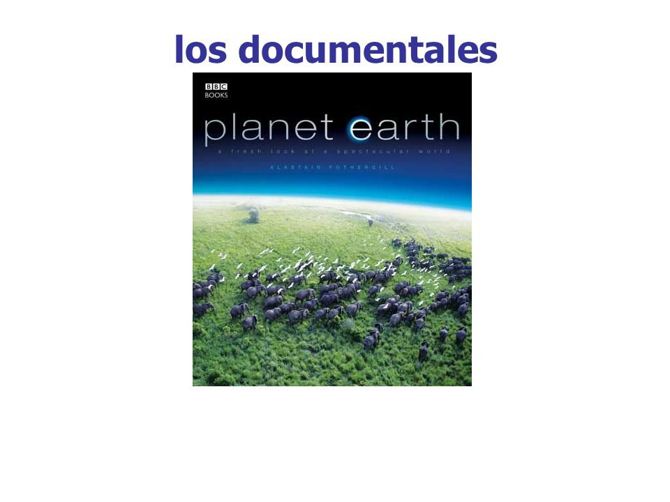los documentales