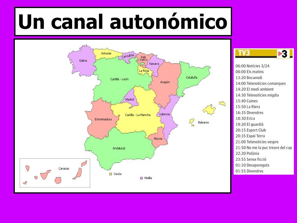 Un canal autonómico