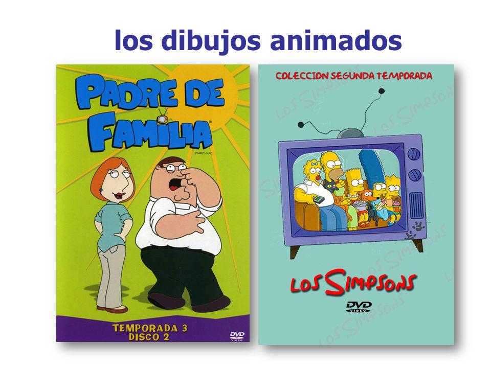 los dibujos animados