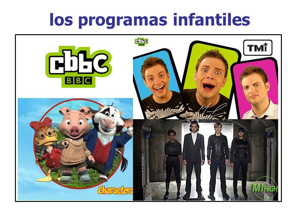 los programas infantiles