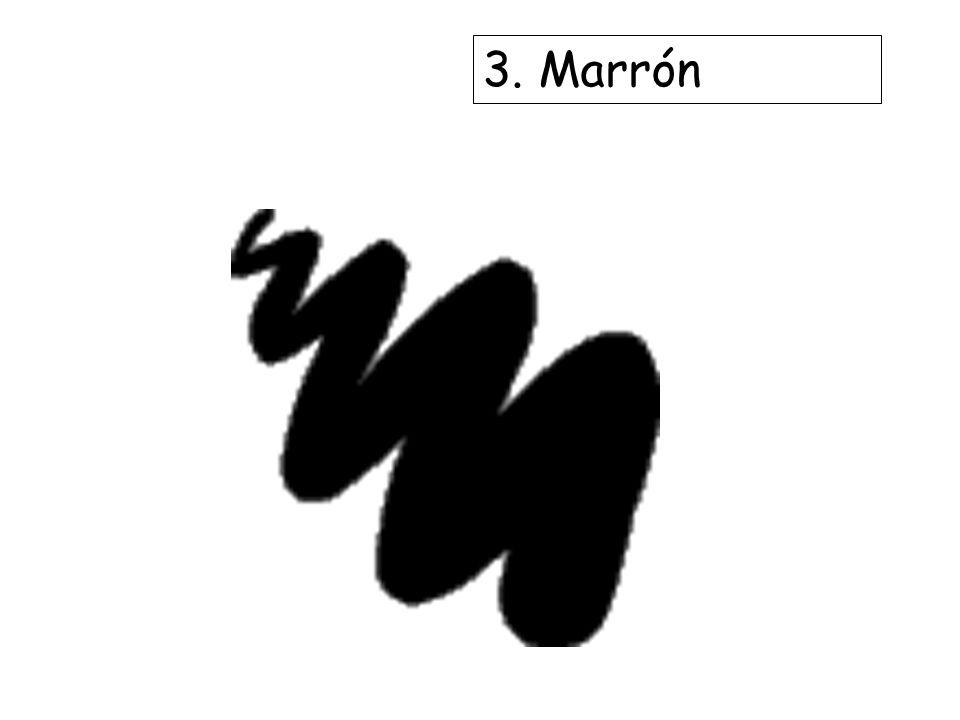 3. Marrón