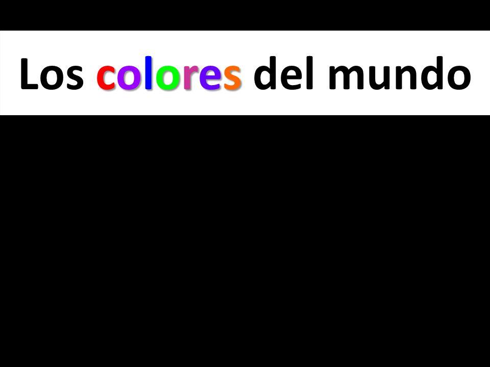 colores Los colores del mundo