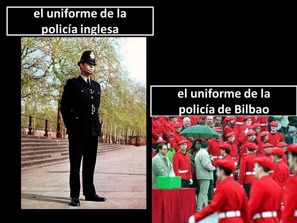el uniforme de la policía inglesa el uniforme de la policía inglesa el uniforme de la policía de Bilbao el uniforme de la policía de Bilbao