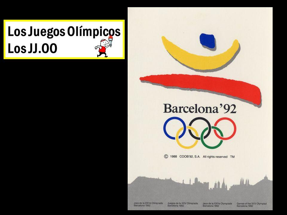 Los Juegos Olímpicos Los JJ.OO