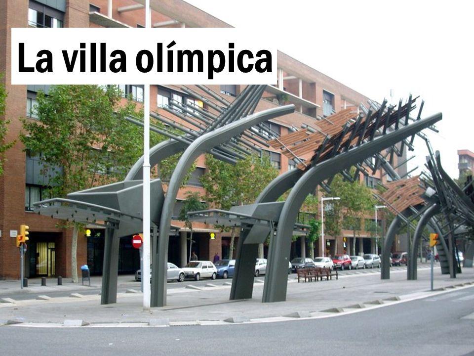 La villa olímpica