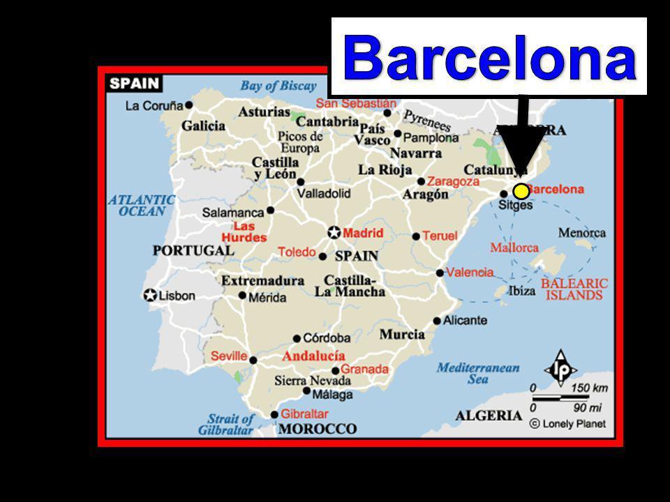 Barcelona tiene ….Barcelona no tiene … En Barcelona hay ….