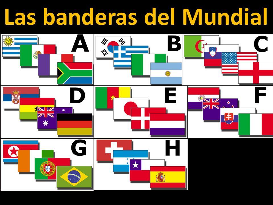 Las banderas del Mundial