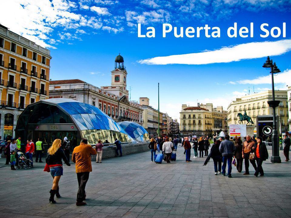 En Madrid hace viento