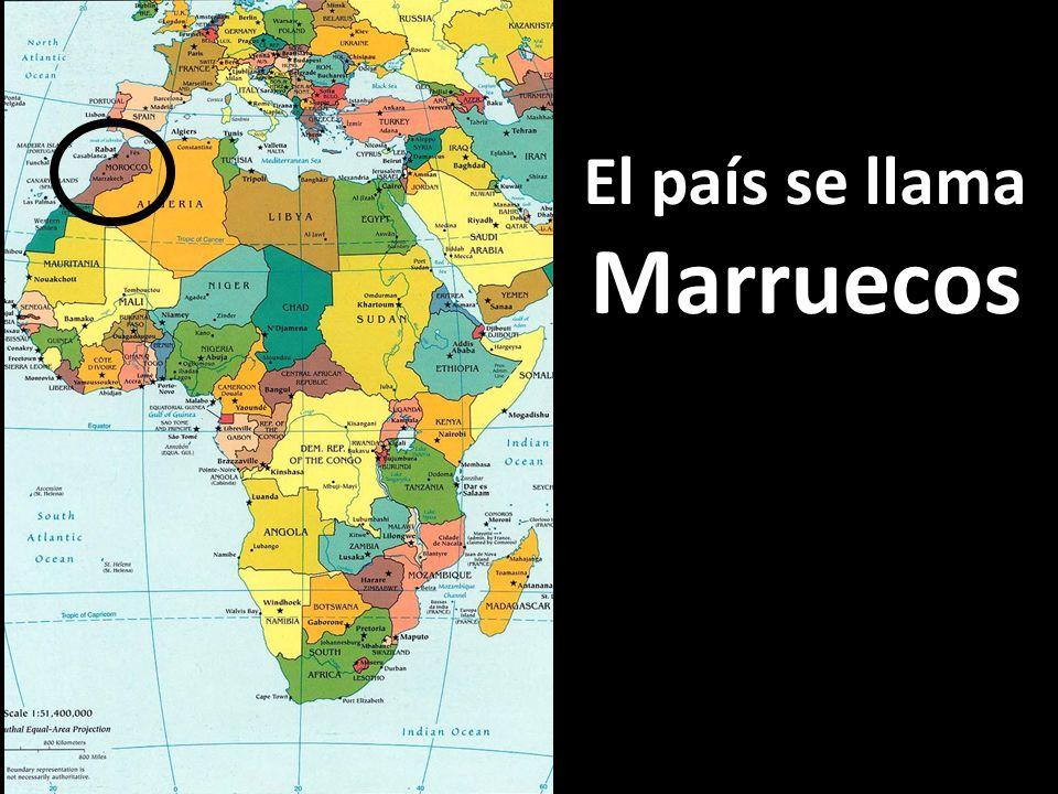 El país se llama Marruecos