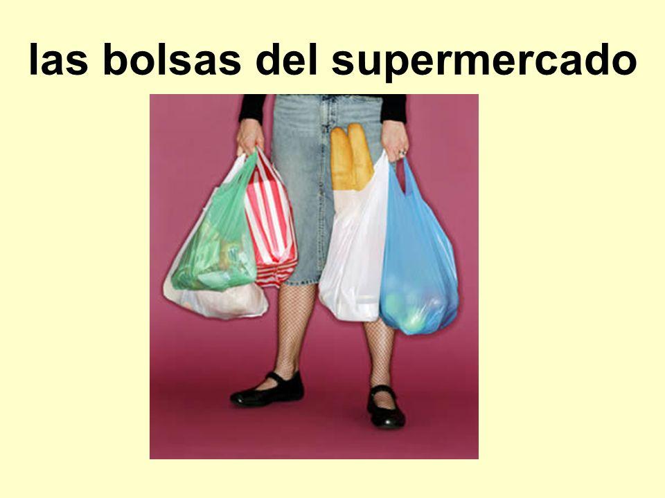 las bolsas del supermercado