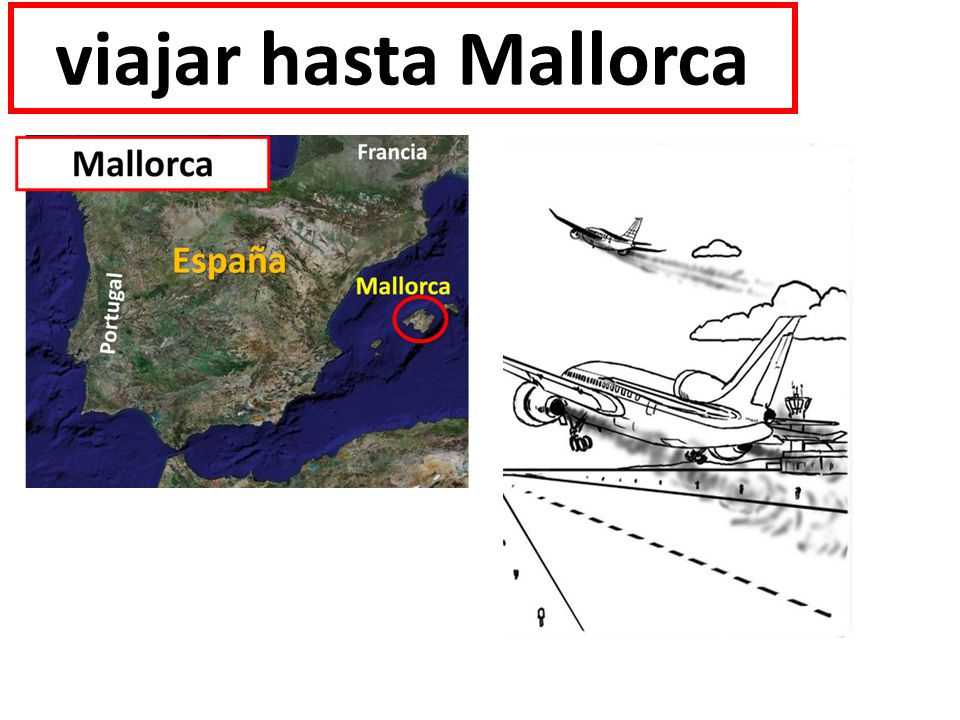 viajar hasta Mallorca