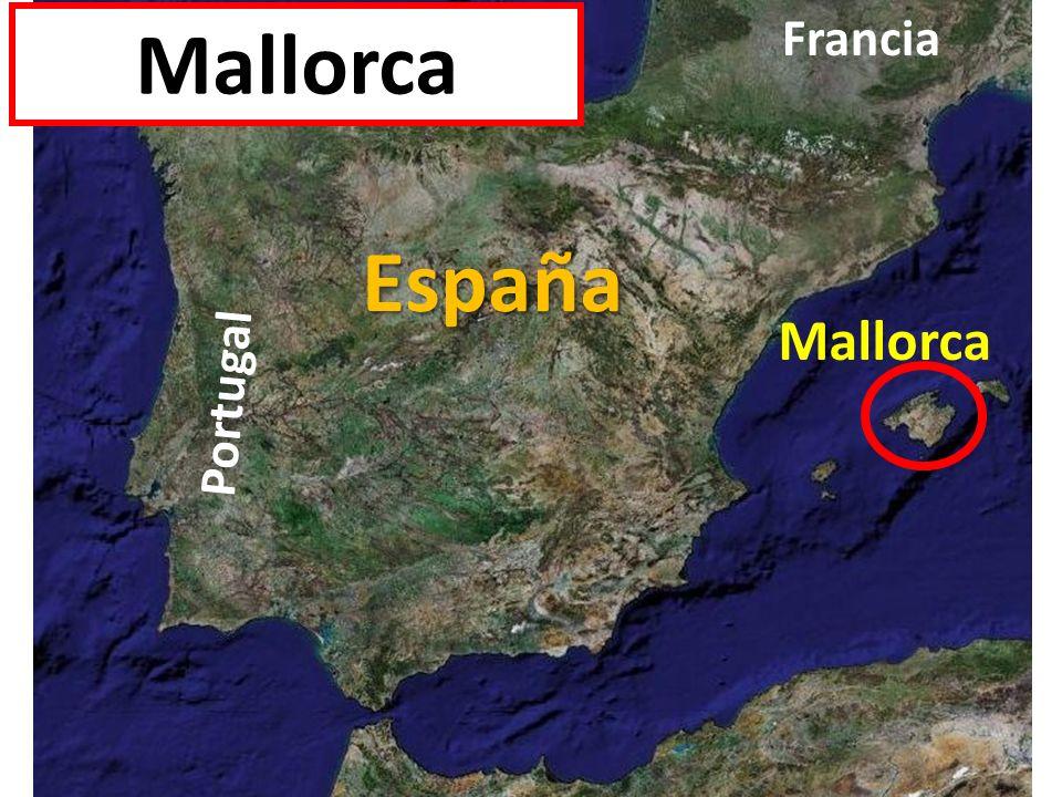 España Portugal Francia Mallorca