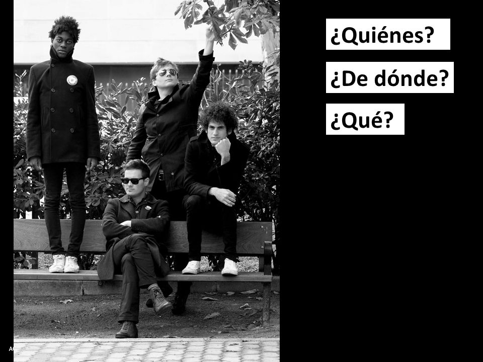 AQA Spanish AS Level © Nelson Thornes 2008 ¿Quiénes ¿De dónde ¿Qué