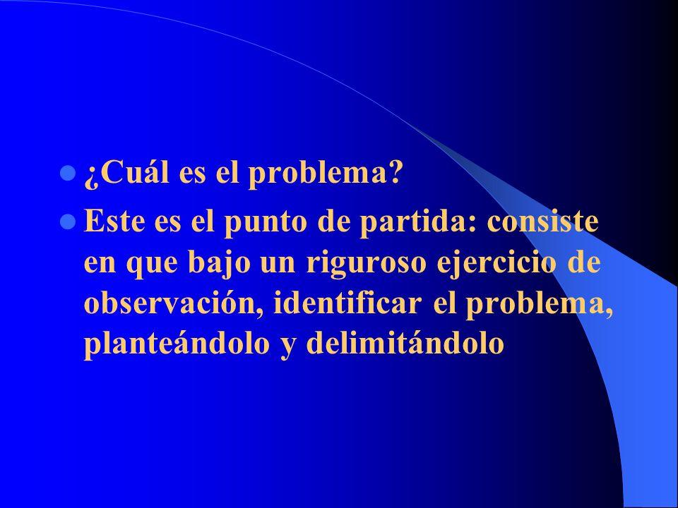 ¿Cuáles son los datos del problema.¿Cuáles son los aspectos principales del problema.