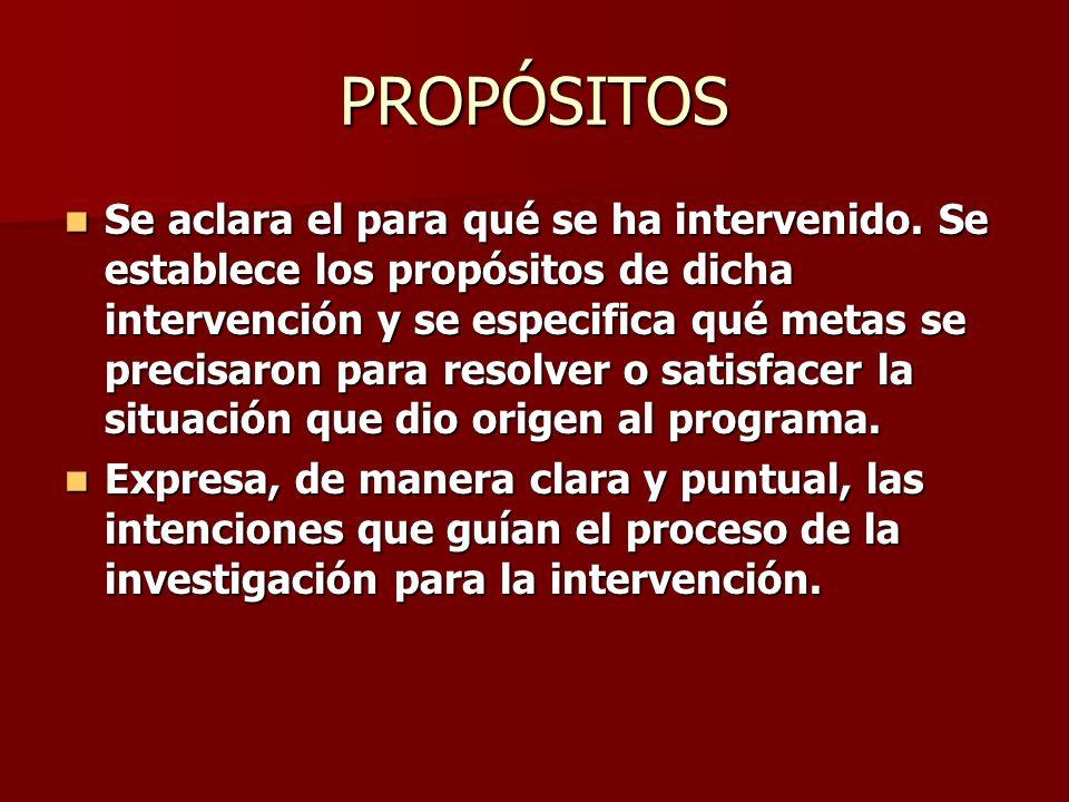PROBLEMATIZACIÓN Historicidad: Da cuenta de la presencia del problema en la práctica profesional.