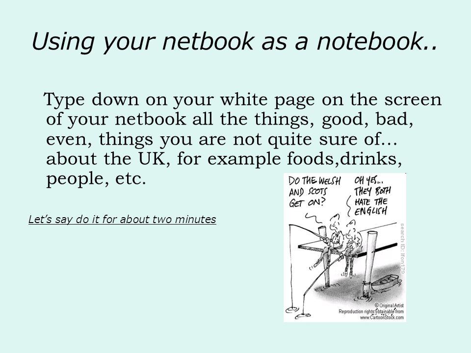 Wikibooks Atención: no funciona cómo el que trabajamos en clase Tenés 12 horas para armar un wikibook con realidades sobre el Reino Unido.