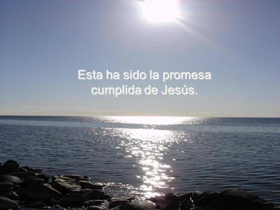 Así lo prometió Él: os he dicho todo estando entre vosotros, pero mi Padre os enviará al Espíritu Santo para que os enseñe y os recuerde todo lo que y