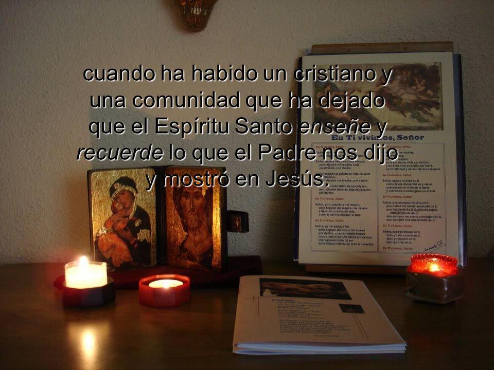 Y la historia cristiana da cuenta que en todo tiempo, en cada rincón de la tierra, y en todas las lenguas, Jesús se ha hecho presente y audible