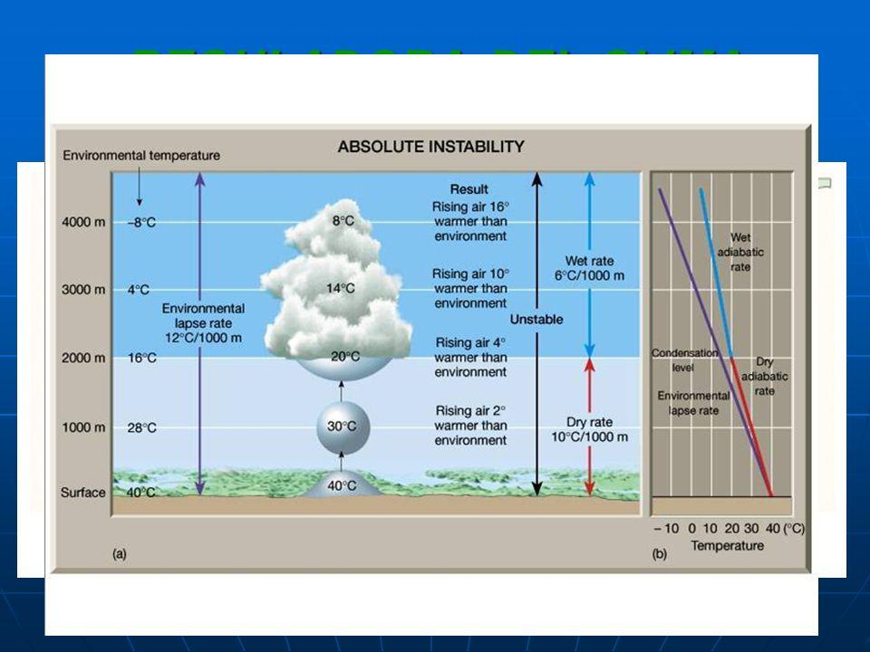 REGULADORA DEL CLIMA Estabilidad atmosférica