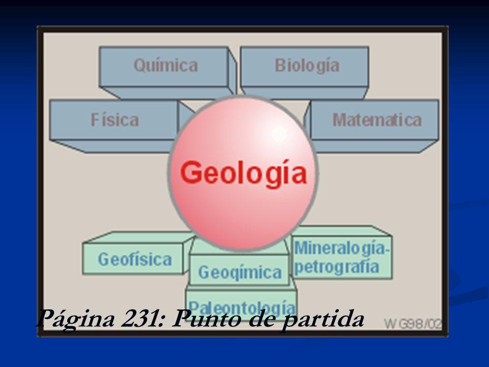 Dificultades de la investigación geológica La Física y la Química se caracterizan por estudiar sistemas que presentan comportamientos muy regulares y que pueden ser comprobados un número elevado de veces hasta llegar a establecer leyes.