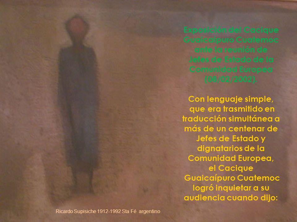 EUROPA DEBE PAGAR SU DEUDA A NUESTRA AMÉRICA Arte Precolombino de Perú da click para avanzar