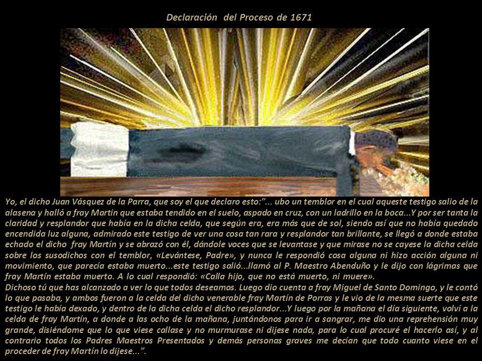 El Cristo de la Agonía en la Iglesia de Santo Domingo de Lima Esta es la imagen, que aún se conserva, frente a la cual Fray Martín levitaba. Así lo de