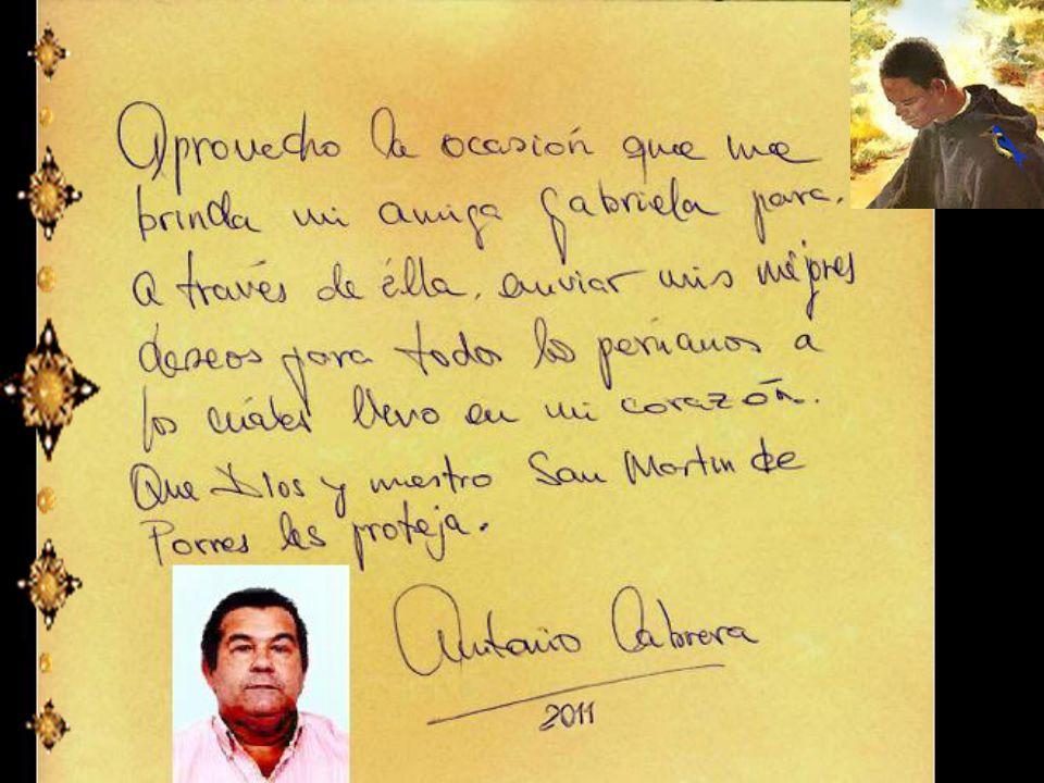 El milagro viviente de San Martín de Porres Nacido en 1951, ahora tiene 60 años de edad y es Cirujano Dentista. Foto de archivo que ubiqué en una revi