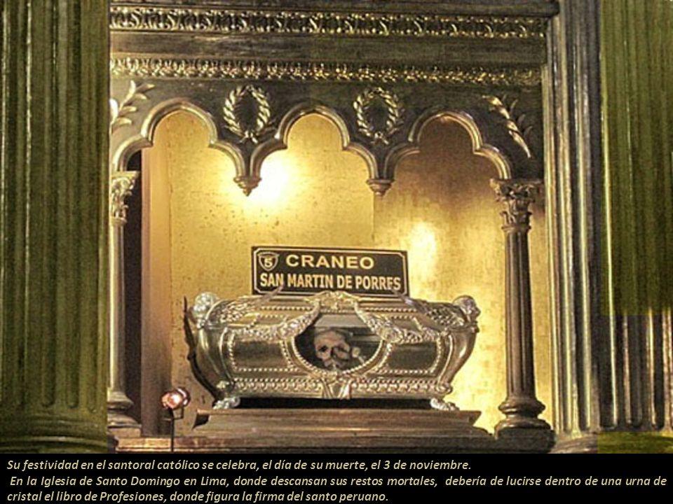 En el convento de Santo Domingo