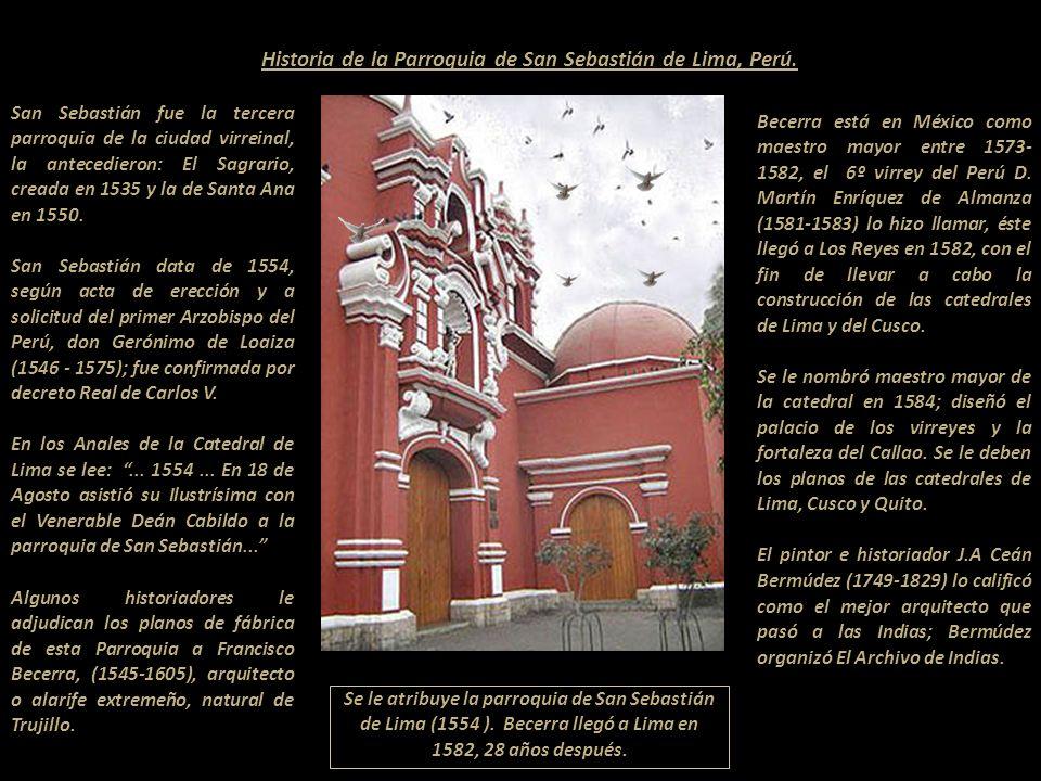 Registro de nacimiento de Martín Iglesia de San Sebastián de Lima, Perú. miercoles 9 dedi ciembre 1579 bapti cea martin hijo depadre no cono cido y de
