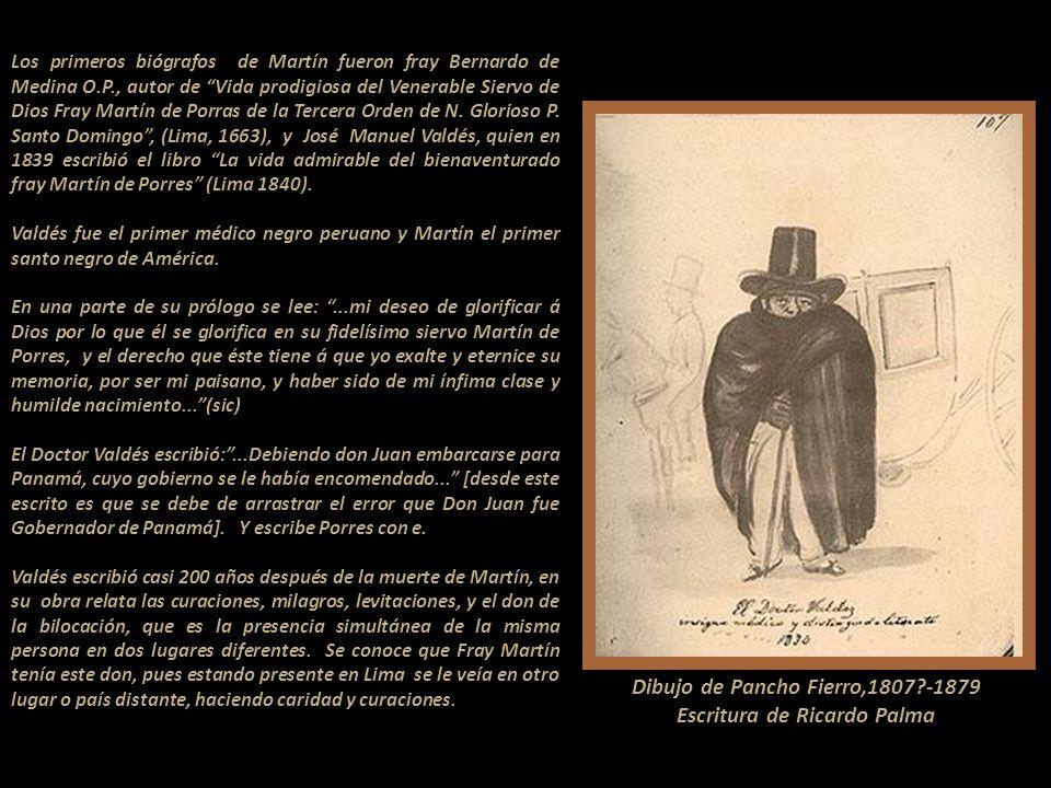 Su padre, Don Juan de Porras Fuentes diversas de la historia de Panamá colonial Las fuentes biográficas de Martín de Porras registran al padre como un