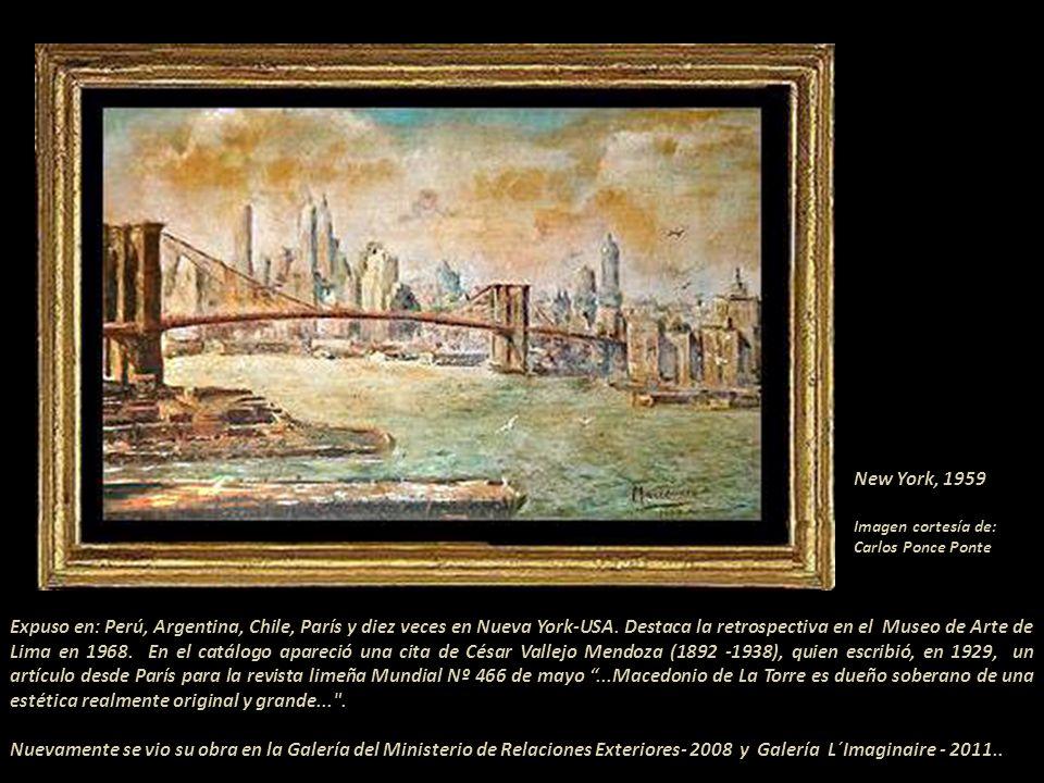 Fuente: Pintores Peruanos de la República-1971 por Juan Villacorta Paredes