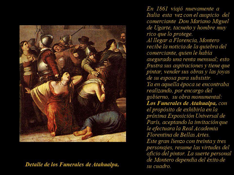 Libertad o Perú Libre Alegoría de un indígena con las cadenas rotas, obra trabajada por encargo del gobierno peruano. Fue tomada como botín de guerra