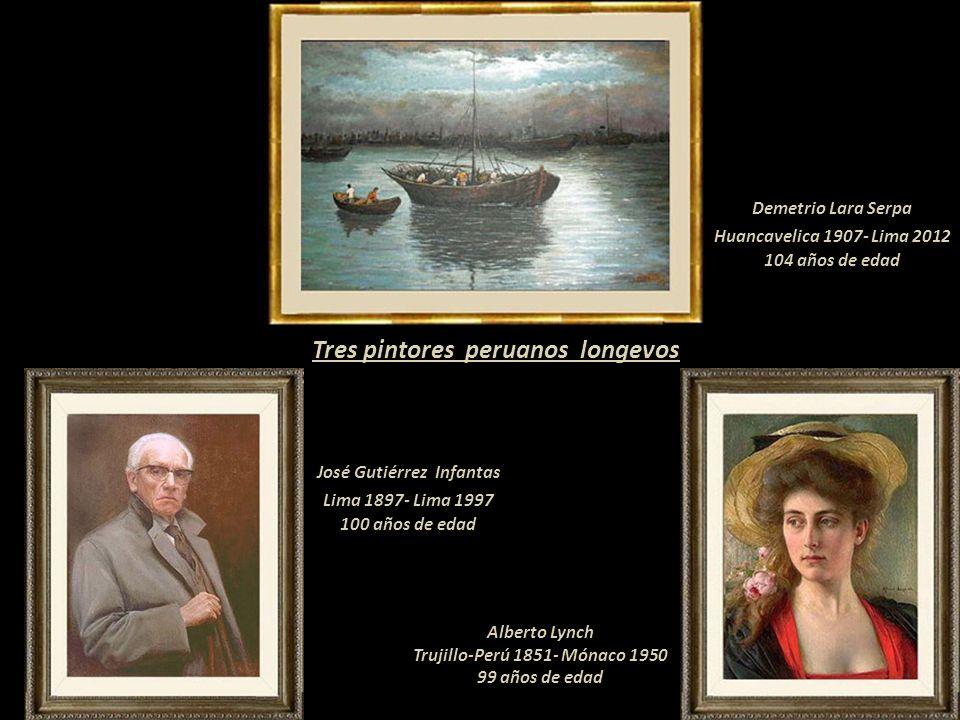 Demetrio Lara Serpa 1907-2012 Pintor longevo del Perú Presentación Nº 67 Gabriela Lavarello Vargas de Velaochaga- Perú - abril 2012 Arboleda, Ayacucho