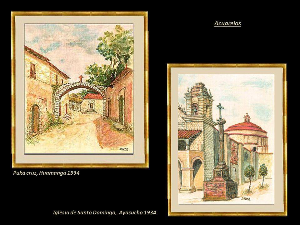 Demetrio Lara Serpa Pintor paisajista y costumbrista. Nació en Conaica villorrio de Huancavelica. Inicialmente autodidacta estudió en la Escuela Nacio