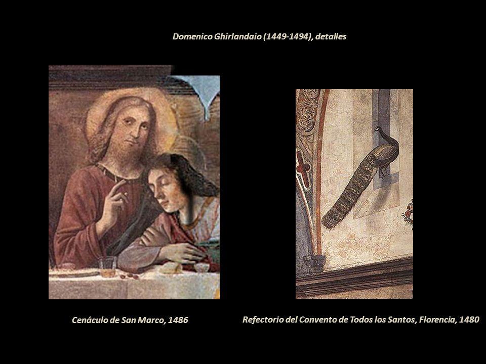 Cosimo di Lorenzo Rosselli (1439-1507), en la Capilla Sixtina. Pintor, célebre por su participación en la decoración de la Capilla Sixtina en el Vatic