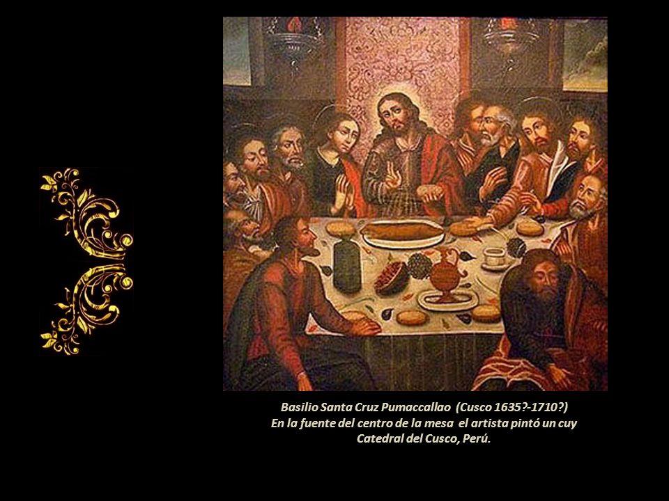 La similitud entre ambos personajes habla por si sola Chile Perú Diego de la Puente 1656 Museo de la Catedral de Santiago de Chile (detalle) Convento