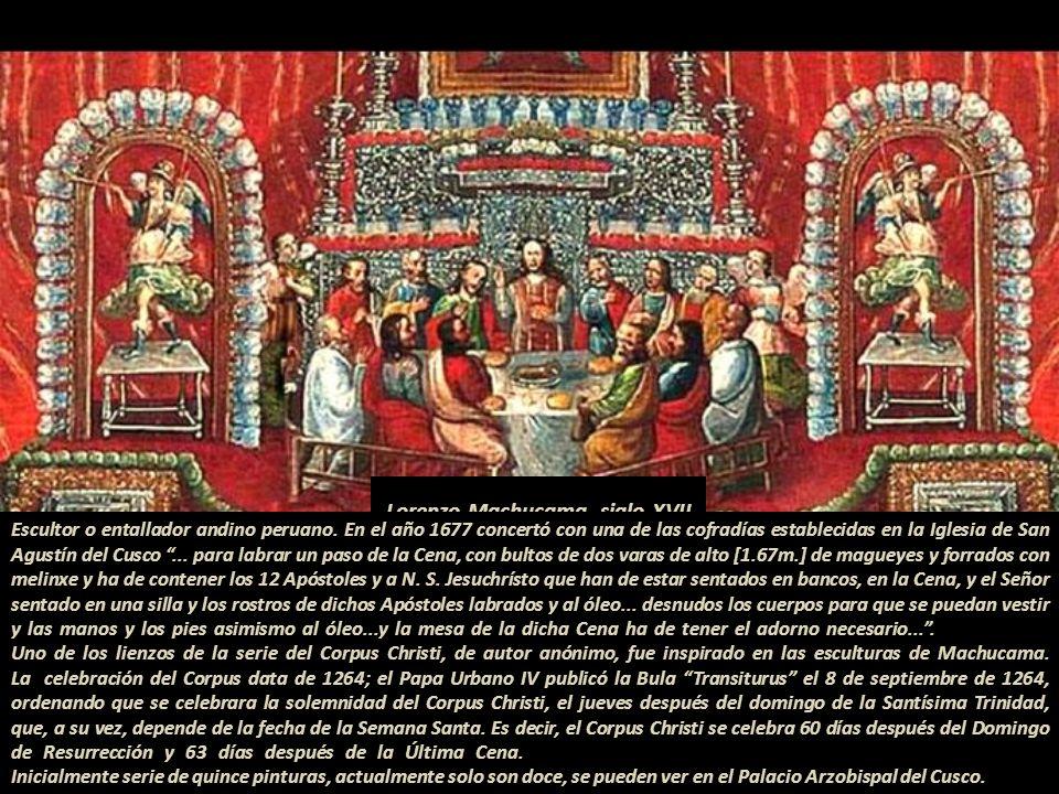 Bernardo Bitti (1548-1610) Iglesia de la Compañía Arequipa, Perú, 1603.