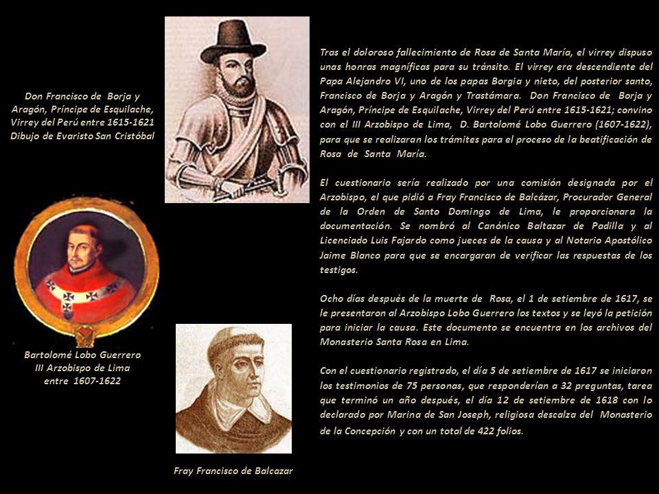 Gloriosa Ascensión de Santa Rosa de Lima Autor: Gonippo Raggi (Italia, 1875-1959) Óleo de 6.00 de alto por 3.00 de ancho Iglesia de Santo Domingo, Lim