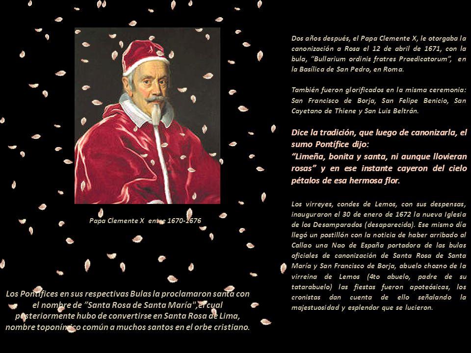 ------- El Tránsito de Rosa de Santa María. -Autor Melchior Cafa (1635-1667). A un costado del zócalo de la obra de 0.82 x 1.47, se lee: ---- --------