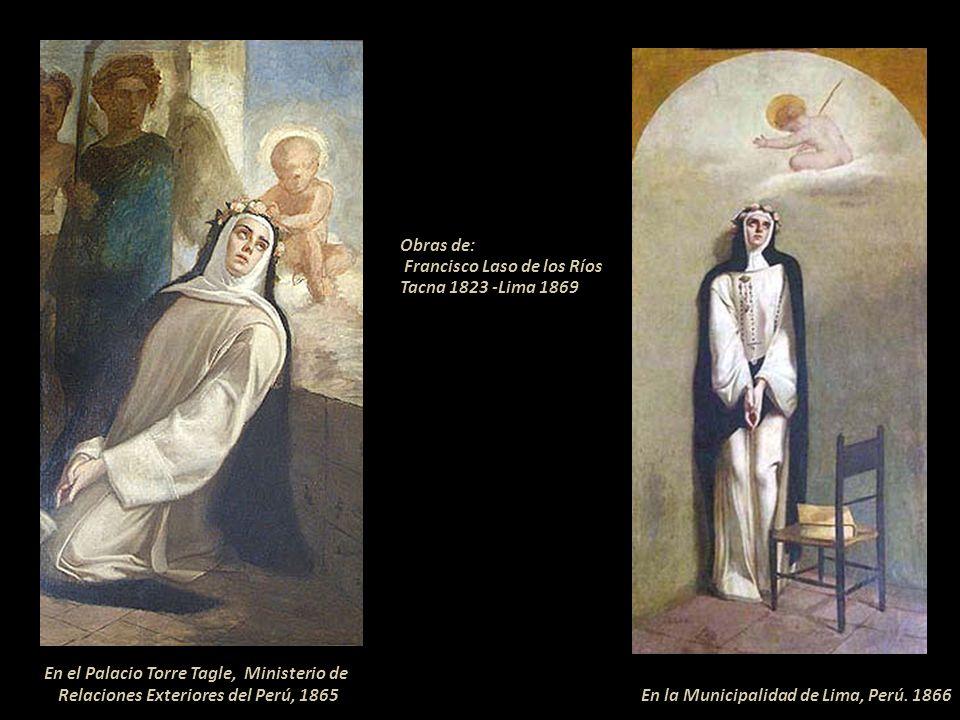 ---Parte de la Bula de Canonización -- DEFINIMOS.- Que la Beata Rosa de Santa María, virgen de Lima, de cuya vida, santidad, sinceridad de fe y excele