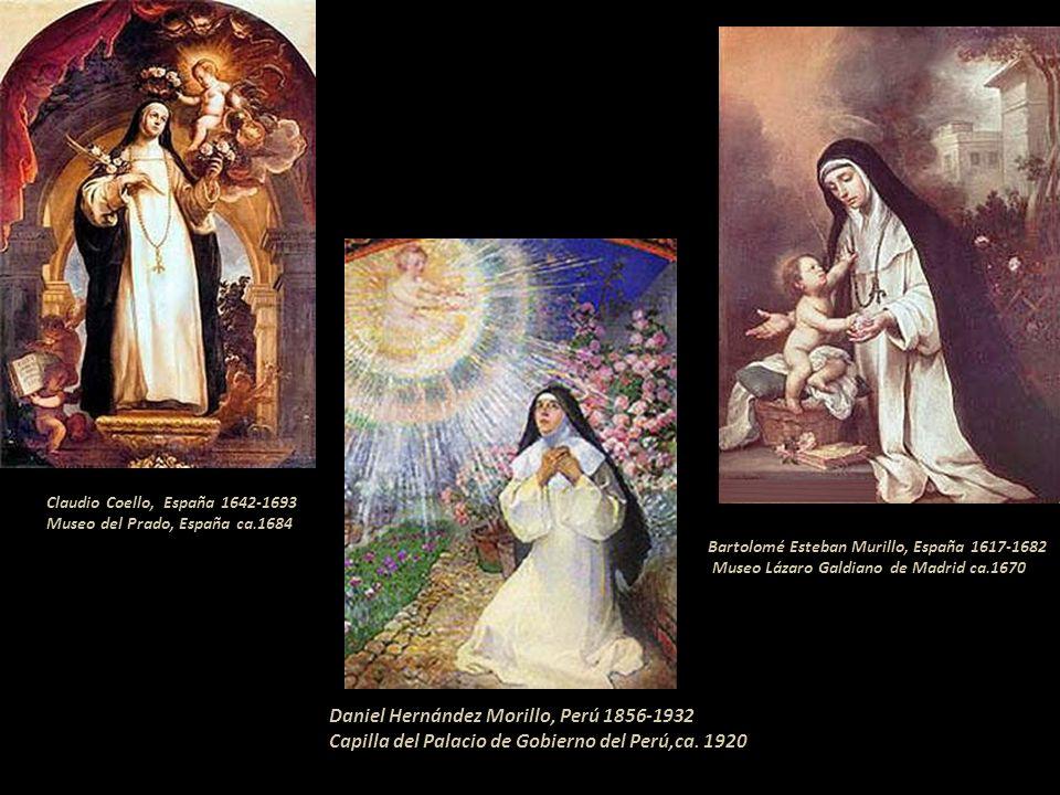 Santa Rosa de Lima corona la portada lateral de la Catedral de Oaxaca, México Iglesia Santa Rosa de Lima, altar mayor en México, D.F