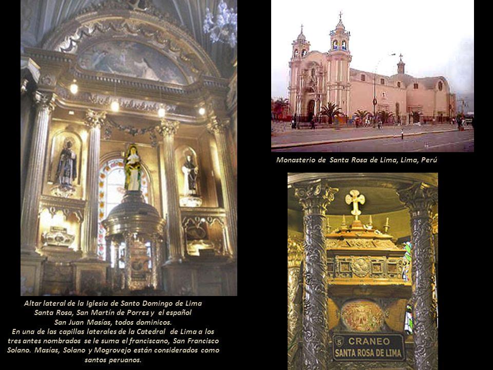 Altar de Santa Rosa de Lima Catedral Saint Patrick's de Nueva York, USA