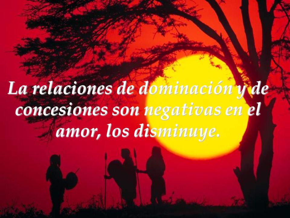 Las buenas relaciones afectivas son óptimas, son muy parecidas a estar solos y ambos crecen.