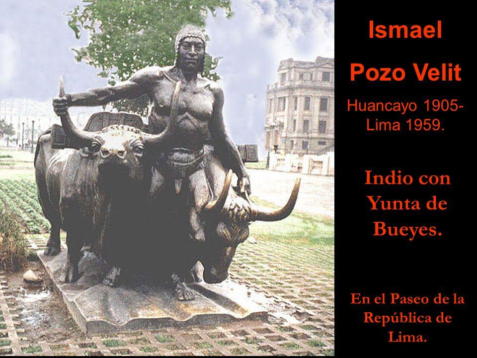 Medalla a Juan Belmonte, 1921. Ostenta el Premio Nacional de Fomento a la Cultura, Baltazar Gavilán 1944. Raúl Pro Arteaga Lima, 1900-1992.