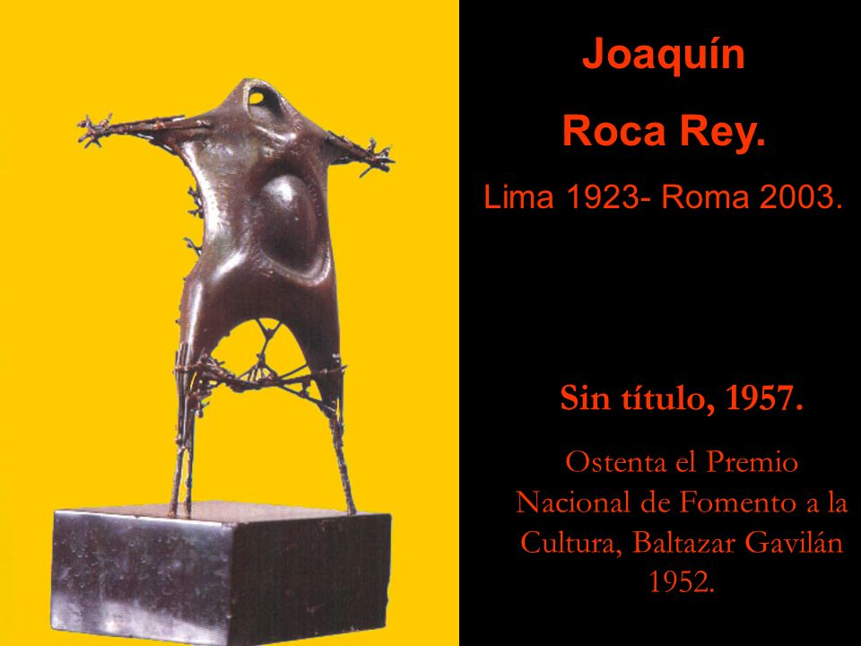 Luis Ccosi Salas Puno 1910- Lima 2003. Alpaca.